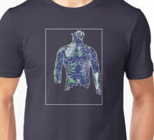 Man Green Blue B Unisex T-Shirt