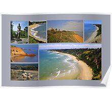 Sandringham collage 2 - Victoria - Australia Poster