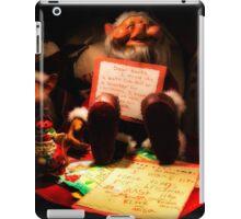 Dear Santa Letter iPad Case/Skin
