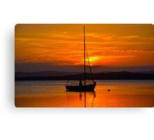 Nautical Sunset. Canvas Print