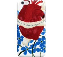 No Perfection In Love iPhone Case/Skin