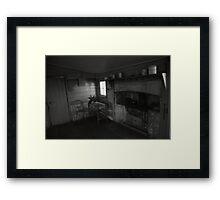 tasting room, gala estate. cranbrook, tasmania Framed Print
