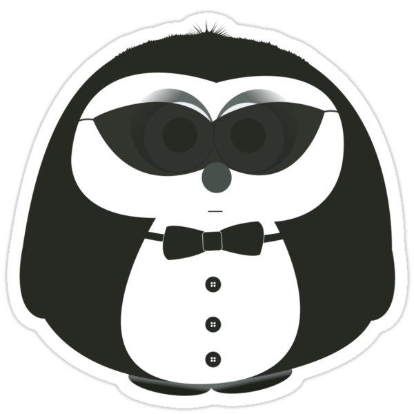 MIB-Pengui by idGee Designs