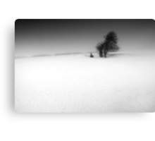 Hollow Victory BW Canvas Print