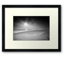 Cold Ridge BW Framed Print