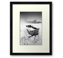 Ice with your water sir? Framed Print