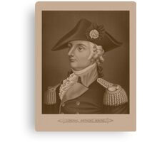 Mad Anthony Wayne Canvas Print