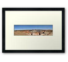 Telfer Gold Mine, Western Australia. Framed Print