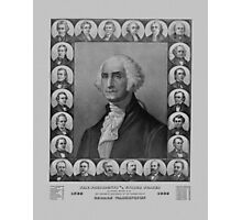 Presidents of The United States 1789-1889 Photographic Print
