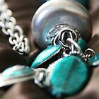 Turquoise and silver..... by LynnEngland