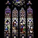St Laurence's Church Stained Glass Window by Victoria Kidgell