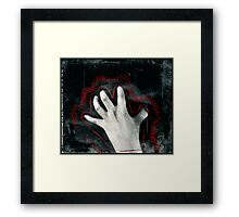 clawing Framed Print