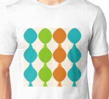 Mid-Century Inspired Ovals Unisex T-Shirt