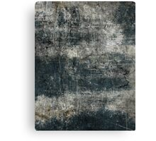 Scratched Metal - Cool Grey Canvas Print