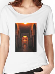 Beautiful corridor with classic arches Women's Relaxed Fit T-Shirt