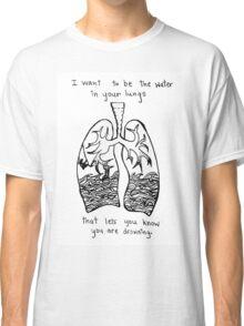 Sorority Noise Blissth Lyrics Classic T-Shirt