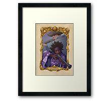 The Lovers Tarot Framed Print