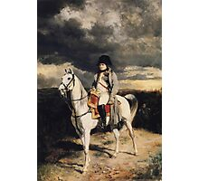 Napoleon Bonaparte On Horseback Photographic Print