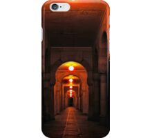 Beautiful corridor with classic arches iPhone Case/Skin