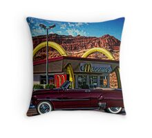 1951 Chevrolet Convertible Throw Pillow