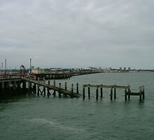 Down Southend Pier by Marilyn Grimble