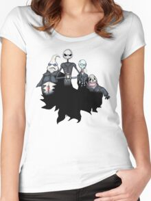 Hell Before Christmas Women's Fitted Scoop T-Shirt