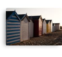 Beach Huts at Southwold Canvas Print