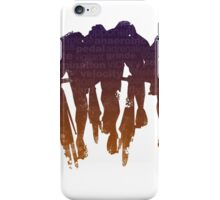 sprint line iPhone Case/Skin