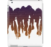 sprint line iPad Case/Skin