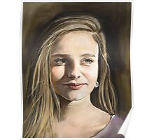 Commission a Digitally Hand Painted Custom Portrait Poster