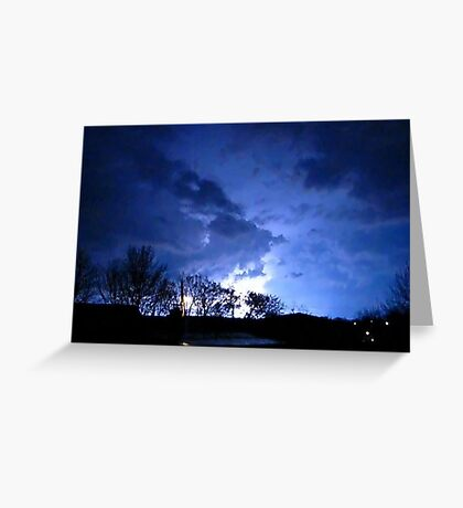 Storm Chase 2012  Greeting Card