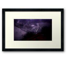 Storm Chase 2012 1 Framed Print
