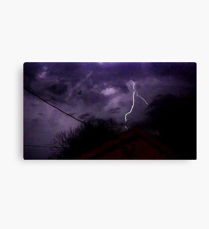 Storm Chase 2012 1 Canvas Print