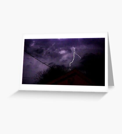 Storm Chase 2012 1 Greeting Card