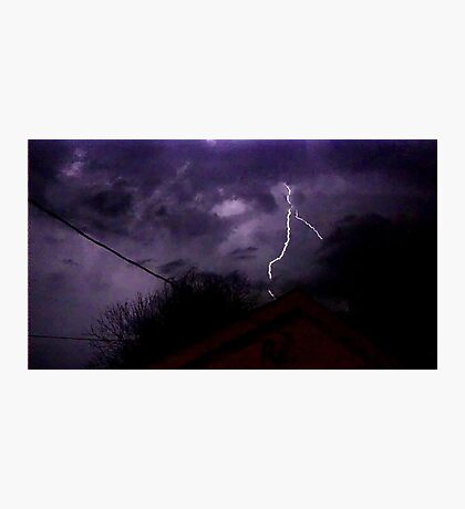 Storm Chase 2012 1 Photographic Print