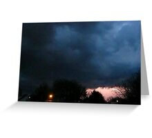 Storm Chase 2012 4 Greeting Card