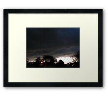 Storm Chase 2012 5 Framed Print