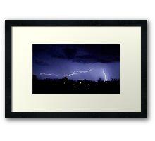 Storm Chase 2012 6 Framed Print