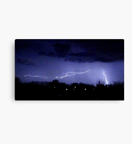 Storm Chase 2012 6 Canvas Print