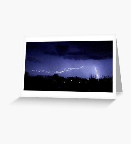 Storm Chase 2012 6 Greeting Card