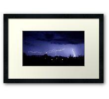 Storm Chase 2012 7 Framed Print