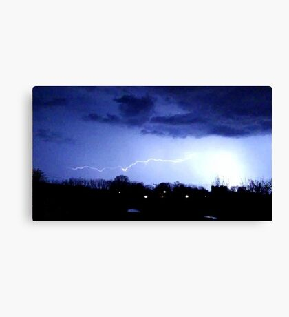 Storm Chase 2012 8 Canvas Print