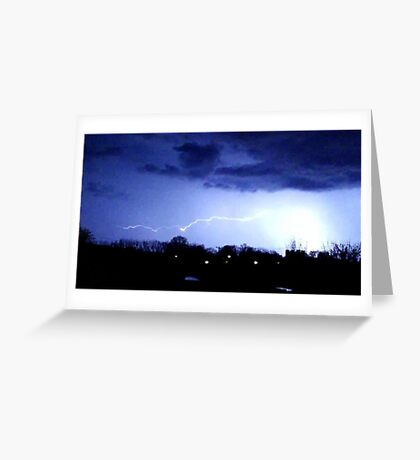 Storm Chase 2012 8 Greeting Card