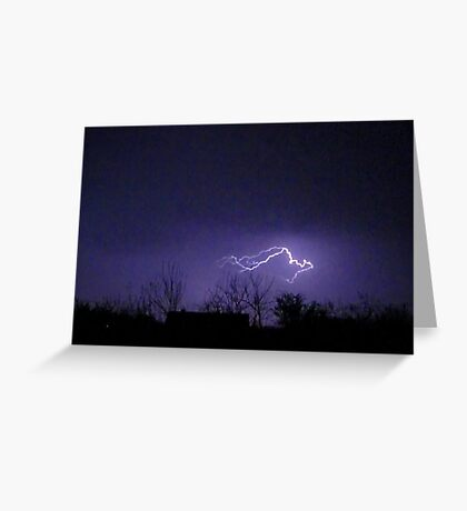 Storm Chase 2012 10 Greeting Card