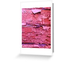 Layer apon layer of pink Greeting Card