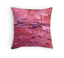 Layer apon layer of pink Throw Pillow