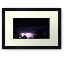 Storm On Approach 6 Framed Print