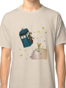 doctor who meets the little princes Classic T-Shirt
