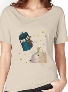 doctor who meets the little princes Women's Relaxed Fit T-Shirt