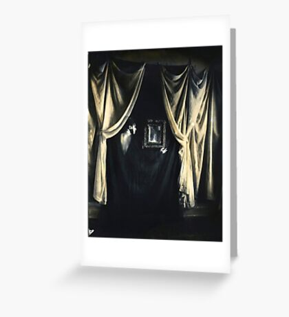 Spirit Photograph-The truth about mirrors Greeting Card